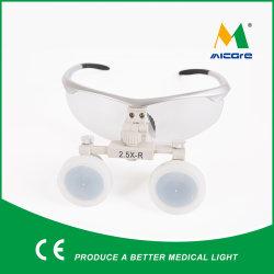 2.5X lente di ingrandimento medica di plastica Magnifer