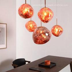 Lava la lumière de la suspension de l'éclairage de la poignée du concepteur lustres feux lampe moderne