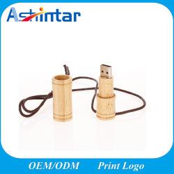 شعار مخصص Bamboo USB2.0/USB3.0 Flash Disk Memory Stick Wood USB Drive (القيادة)