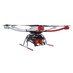 La versión 2020 de largo tiempo de vuelo Rain-Proof la extinción de incendios de la cámara Drone