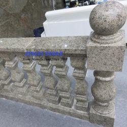 Мраморные Balustrade Handcarved природного камня гранита и ограждения для Baluster балкон с видом на поручни поручень