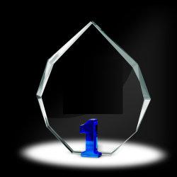 Años de Servicio radiante Crystal Award