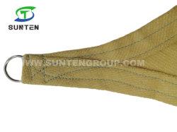 Outdoor Portable Protection UV de pliage Triangle Garden Sun Protection de l'ombre Sail auvent dans Classic pour Patio de couleur beige
