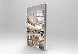 Affichage de publicité Frameless conduit miroir magique pour les centres commerciaux