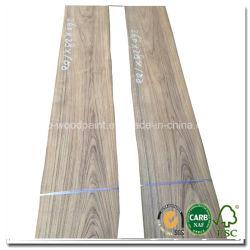 0,45 mm de espesor de la corona de teca de Birmania Cortar Chapa de madera natural para los Muebles Decoración de la puerta Hotel