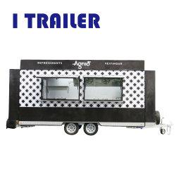 Design exclusivo ar alimentos comida Veículo Van com 50mm de espessura isolamento dentro da parede