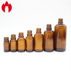 La distribution de bouteilles moulé orange compte-gouttes huile essentielle le flacon en verre