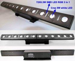 Activa o som de despedida de Controle de LED de luz do feixe de Pixel Bar com fundo SMD Lave o Efeito de cor