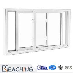 venster van het Glas van het Venster van het Venster van de Dikte UPVC/PVC van 2.2mm het Plastic Glijdende