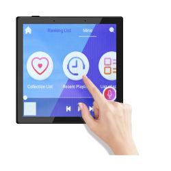 Novo sistema Android 7.1 so ecrã táctil 4 polegadas casa inteligente do painel de controle