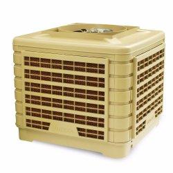 Для использования вне помещений партии высокое качество пластмассовый корпус промышленного охлаждения блока при испарении циркуляция охлаждающей жидкости охладителя нагнетаемого воздуха
