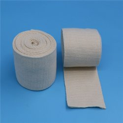 Ce tissu de coton approuvé Stockinette élastique Bandage tubulaire