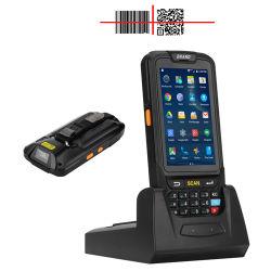 De handbediende Pda- GPS Androïde Mobiele Terminal van de Inzameling van Gegevens RFID met 1d/2D De Scanner van de nfc- Streepjescode