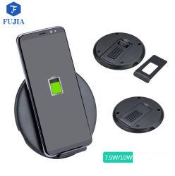 Samsung S6/S6 가장자리 관계 또는 iPhone/HTC Smartphone 이동 전화를 위한 Q800 Qi 무선 충전기