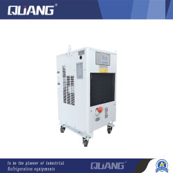 Industriële oliekoeler koude olie machine olie koelapparatuur voor CNC-machines 1200W-principe en elektrische as QG-012ly