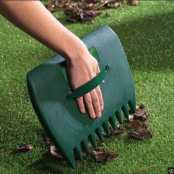 원예용 도구 손 잎과 잔디 수집가 잔디밭 클로