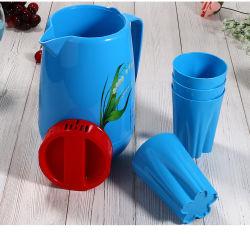 1,25 л хорошего качества цветной печати заслонки смешения воздушных потоков Пластиковый кувшин установлен