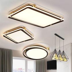 حديثة بسيطة يعيش غرفة مصابيح وفوانيس الإرتفاع - درجة كاملة منزل سقف مصباح