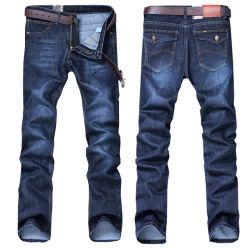 Baumwolle gerade Classic Jeans Denim Hose New Design man und Jeans-Freizeithose Für Herren In Blau