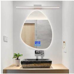 Unregelmäßiges Hotel moderner Frameless LED Backlit Möbel-Wand-Eitelkeits-Spiegel