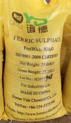 Flocculant van het polymeer IjzerSulfaat/Poly IjzerSulfaat 21%
