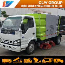 5.5Cbm Isuzu 4X2 Diesel Petite balayeuse en acier inoxydable du chariot