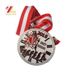 Commerce de gros de la mode personnalisé impression 3D'émail doré argenté Mou Dur Aucun minimum de défi sportif de l'épinglette de la Médaille de l'exécution Médaille pour cadeau de promotion (YB-M-004)