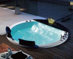 Роскошный Woma круглая форма ванной Bulid в горячей ванной джакузи (Q430-120)