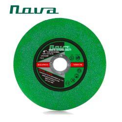 Grüne Farben-Schleifer-Poliermittel-schnitt reibendes Ausschnitt-Polierhilfsmittel Platten-Scheibenrad ab