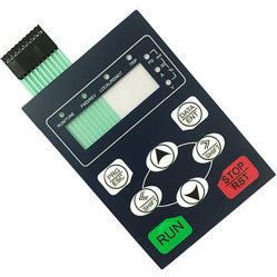 À prova de resistência às radiações UV Interruptor de Membrana Teclado para uso ao ar livre