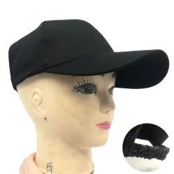 Nouveau chapeau haut vide Sunbonnet Coton de protection solaire de l'Ouest, hommes et femmes de la plage de gros de queue de cheval Casquette de baseball cap