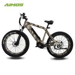 A mediados de 1000 W de neumáticos de la grasa de la unidad bicicleta eléctrica para la caza