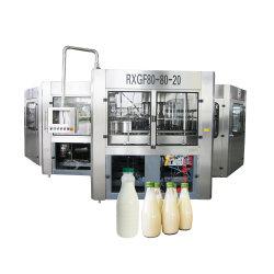 زجاجة حشو الحليب والمربى آلات الزبادي خط الإنتاج / معدات معالجة الألبان / آلة معالجة الحليب