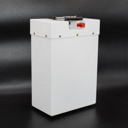 Zahnstange E-Fahrrad Lithium-Batterie des Großverkauf-18650 der Batterie-48V 10ah 15ah 20ah hintere für 1000W 1500W elektrischen Fahrrad-Roller
