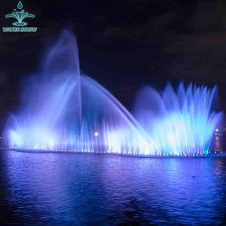 L'extérieur LED à grande échelle de la musique de danse Explosion de gaz Fontaine à eau