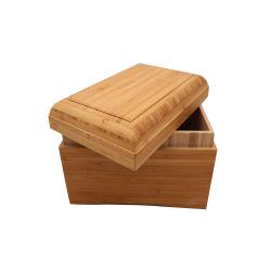 Urna di legno di bambù dell'animale domestico di economia
