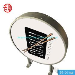 Estrutura do dossel publicidade caixa de luz de LED do monitor em amplamente utilizado