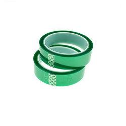Green Pet ruban résistant à la chaleur à haute température pour la protection de pulvérisation de masquage haute température.
