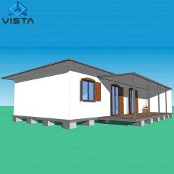 Neuer Entwurfs-Licht-Stahlkonstruktion-Rahmen-vorfabriziertes kleines vorfabrizierthaus