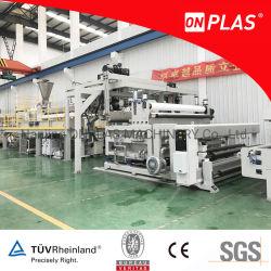 Système de coupe de refroidissement à eau feuille de PVB extrusion pour la vente de la machine