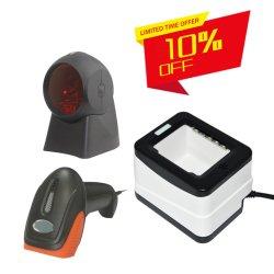 Scanner van de Streepjescode van de Code Qr van de Laser Bluetooth CCD CMOS van USB PS2 RS232 1d de 2D Draagbare Handbediende