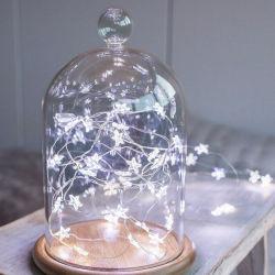 Blinkendes kupferner Draht-Innenschlafzimmer-Dekoration-Weihnachtsgroßhandelslicht