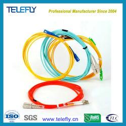 LC/SC/ST/FC Monomodo Simplex/dúplex/óptico de fibra óptica Cable de conexión