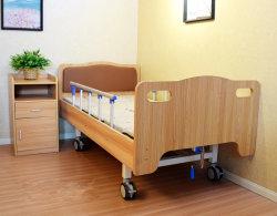 Types de gros de style en bois de lit d'hôpital électrique manuel pour les foyers de soins