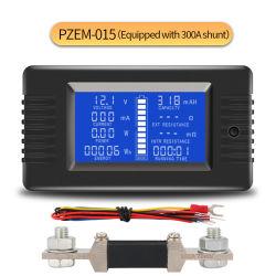 Peacefair neueste Batterie-Prüfvorrichtung-elektrisches Messinstrument 0-200V, 0-300A