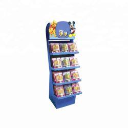 Op maat gemaakte CMYK/Pantone/Spot Color Printing Food Display Cardboard Display stand