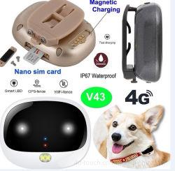 방수 V43를 가진 장치를 추적하는 4G 통신망 차 또는 고양이 GPS