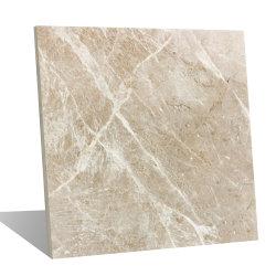 600x600mm Interior da pedra mármore branco natural da parede de cozinha Material de Construção de azulejos do piso de cerâmica de porcelana polida