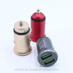 지능적인 이동 전화 전기 이중 USB 차 충전기