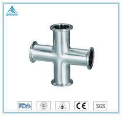 Traversa sanitaria 304/316L del morsetto dell'acciaio inossidabile